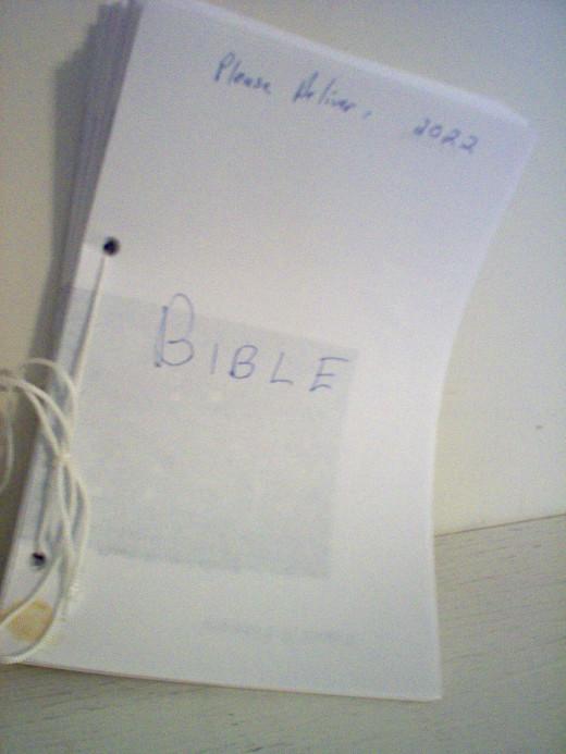 Handmade Bible