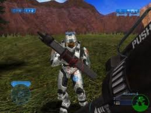 Halo is one of the top selling Xbox video games ever and it featured great first person point of view game play.