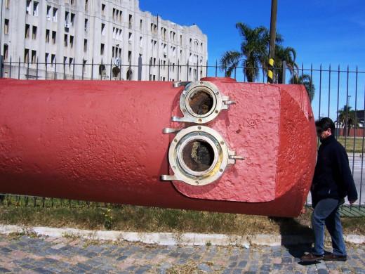 Part of the huge telemeter, used for range finding