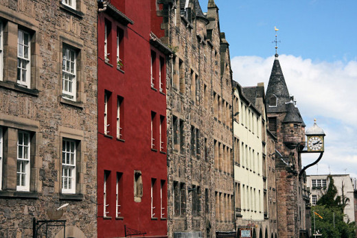 This area of the Royal Mile has much history and many ghosts