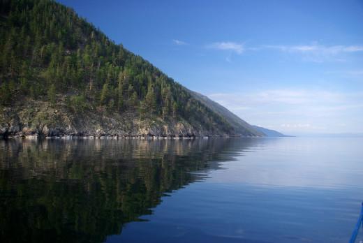 A beautiful view of Lake Baikal