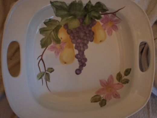 Large Fruit Serving Platter