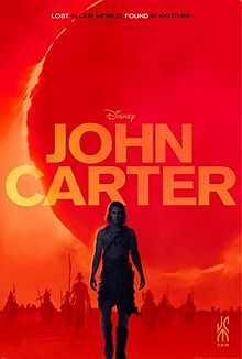 Theatrical Poster for John Carter