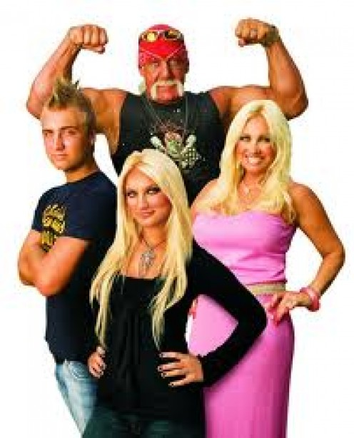 Hogan Knows Best is a reality show starring Hulk Hogan. It follows not only his wrestling and acting career but his home life as well.