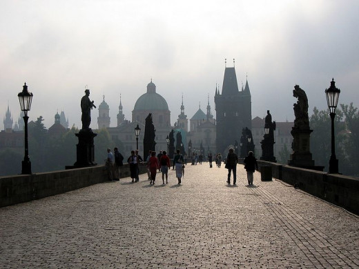 Charles Bridge in Prague (Karlův most v Praze)