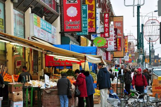 Spadina Avenue Chinatown, Toronto