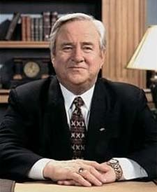 Jerry Falwell Hr., Founder of Thomas Road Baptist Church and Liberty University
