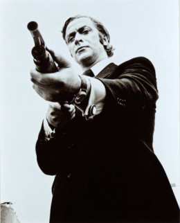 In the iconic gritty villain movie, 'Get Carter'