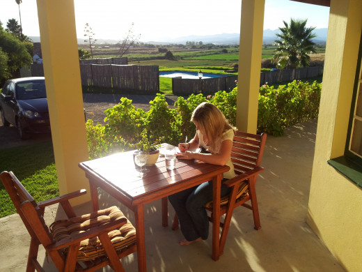Finding my passion for writing on a trip up the Garden Route in April 2012