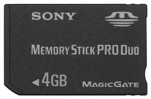 Memory Stick memory card by Sony