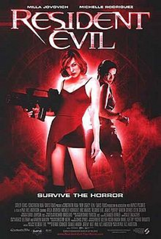 Theatrical Poster for Resident Evil (2002)