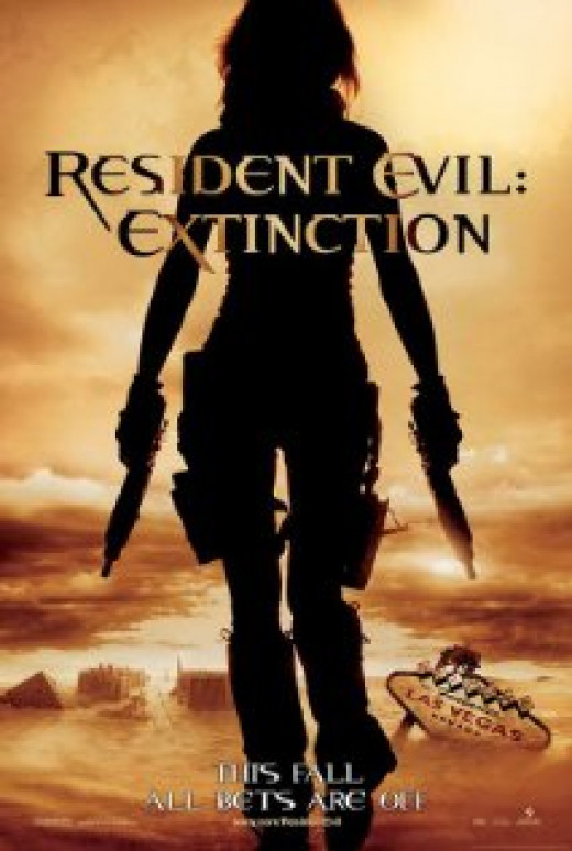 Theatrical Poster for Resident Evil: Extinction