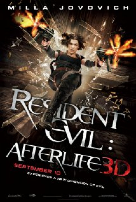 Theatrical Poster for Resident Evil: Afterlife