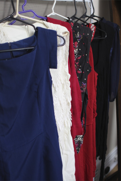 "My ""already own it"" Fall/Winter 2012 dresses."