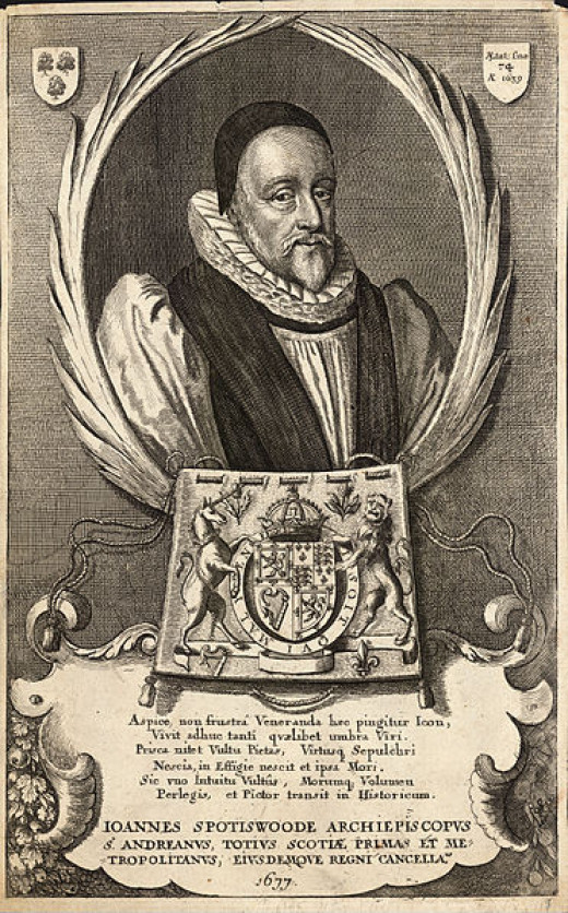 Archbishop Spottiswoode is just one of the ghosts that may haunt Edinburgh's Royal Mile.