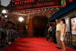 "Woody and Soon-Yi at the premiere of ""Vicky Cristina Barcelona"""