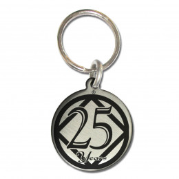 Narcotic Anonymous Key Chain with 25 Years Clean