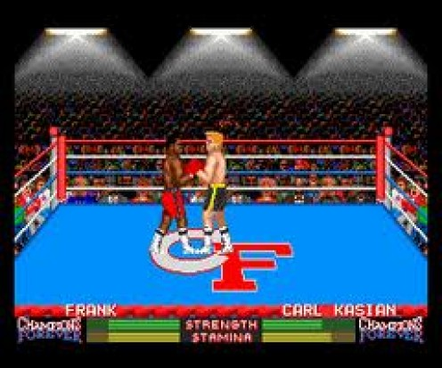 Champions Forever Boxing was the first boxing game released exclusively for the Turbo Graphics 16.
