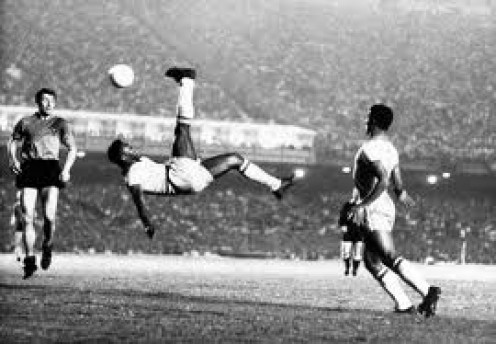 Pele was the king of Soccer and was a true athlete. He had moves on the field rarely seen by other athletes but many soccer players try to emulate him nonetheless.