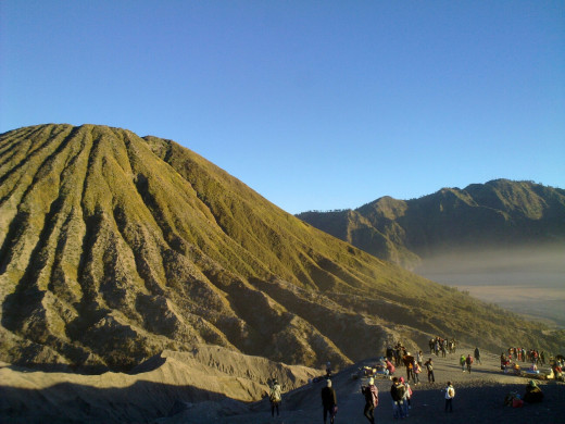 Mt. Batok, one of the main attractions in Bromo-Tengger-Semeru National Park.