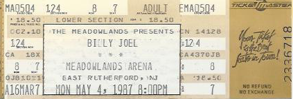 1987 Billy Joel - the concert we never saw
