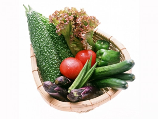 Green vegetables contain antioxidants and high in fiber helping your weight loss program