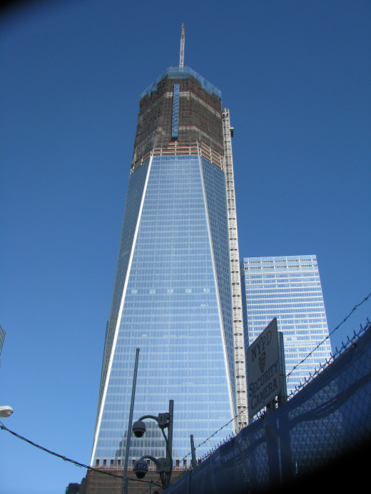 One World Trade Center, December 2011