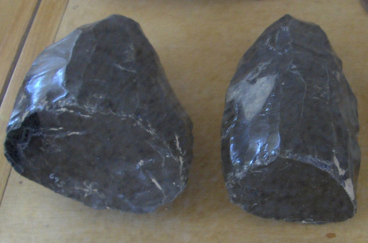 Obsidian cores