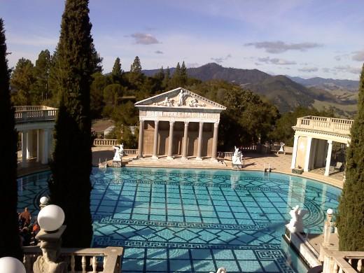 The beautifl outdoor Neptune Pool.
