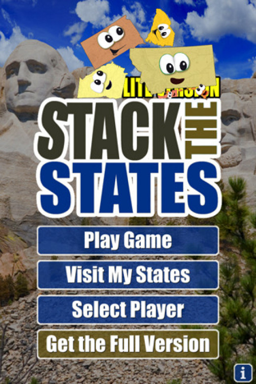Stack the States and Stack the Countries are fun and educational apps