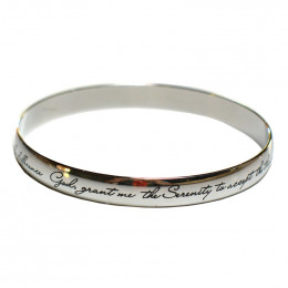 Serenity Prayer bangle