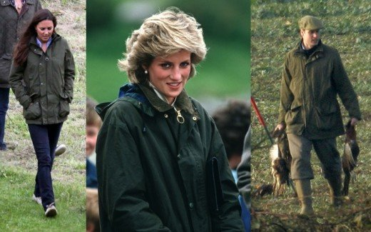 Barbour also carry the Royal Warrant to supply the Royal House Hold with waterproof and protective clothing.