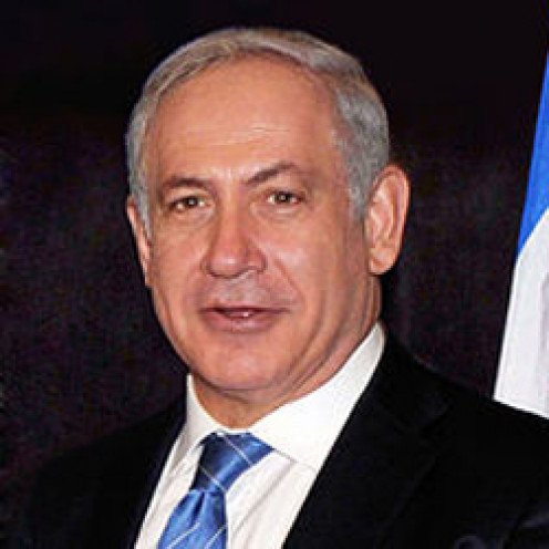 Benjamin Netanyahu, a man of great courage and leadership.