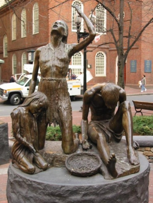 Boston Famine Memorial
