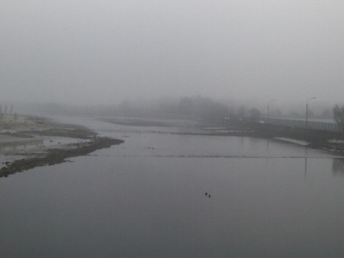 The Castletown River from the Newry Road Bridge, Dundalk