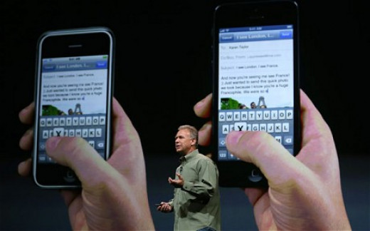 iPhone, iPhone 5 Comparison.