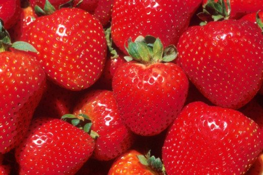 Berries, such as these strawberries, are an excellent way to maintain high HDL cholesterol levels.