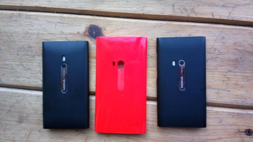 Lumia 800, Lumia 920 & N9
