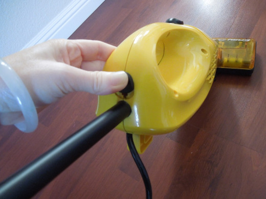 You Can Turn Eureka Boss Superbloom Vacuum into A Handheld Vacuum Cleaner by Pushing the Button and Releasing the Handle.