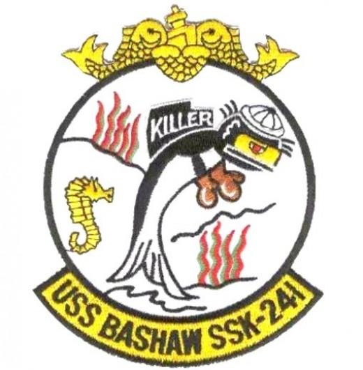 USS Bashaw patch