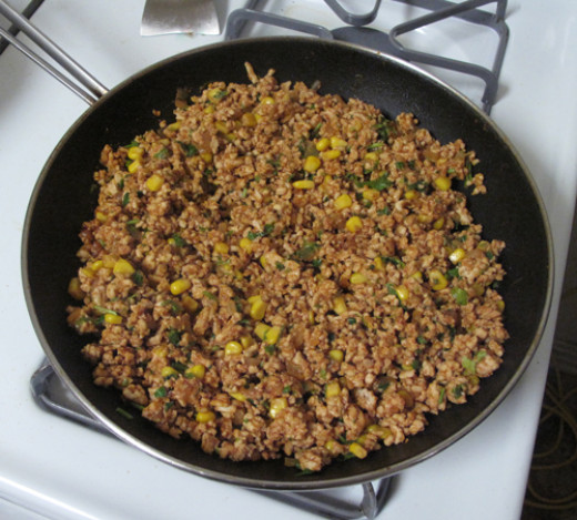 Low Fat Soft Tacos made with Ground Turkey instead of beef; a delicious healthier option!