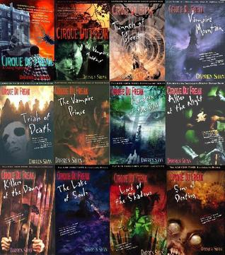 The US First Edition Cirque Du Freak Collection