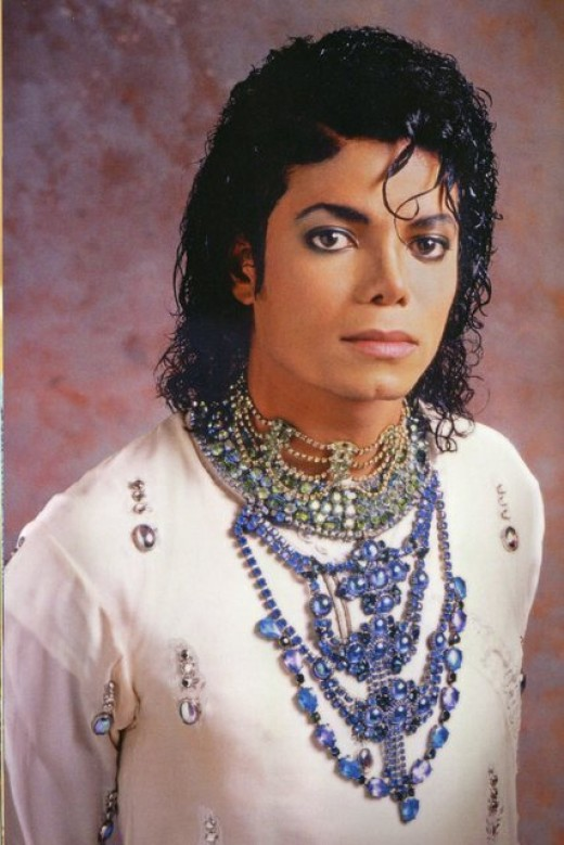 One of the author's inspirations: Michael Jackson