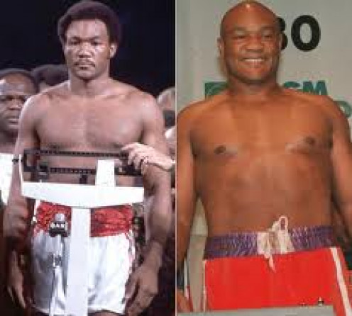 Young and Old, George Foreman Packed A Punch. Big George is a two time heavyweight champion and he is also the oldest heavyweight champ in the sports history.