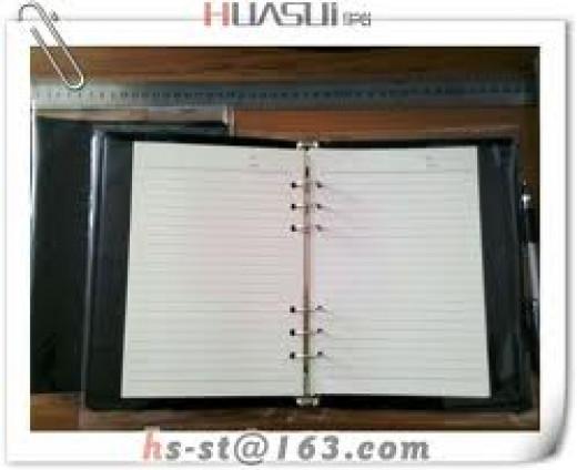 Loose leaf notebook/Budget Records