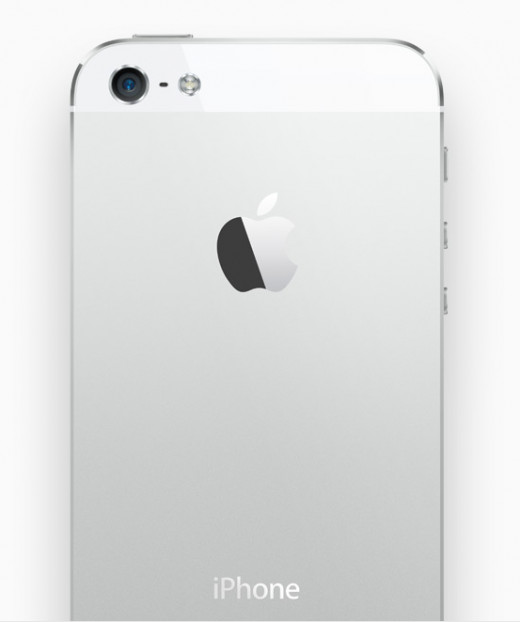 The thinner iPhone 5 boasts an aluminum back, recalling the original iPhone's iconic, metallic design.