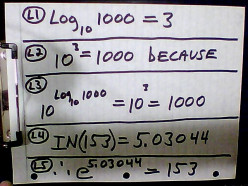 Complex Logarithms; part 1: Natural log with a negative argument