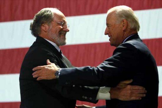 Governor Corzine and Vice President Biden