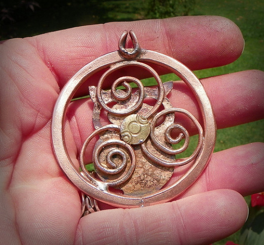 Talisman of the Blodeuwedd Trinity from leespicedragon  Source: flickr.com