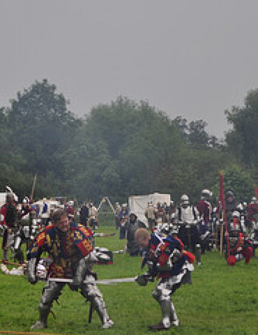 Battle of Tewkesbury from Curmo Source: flickr.com